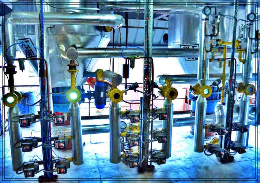 Edible Oil Process Automation MAchine