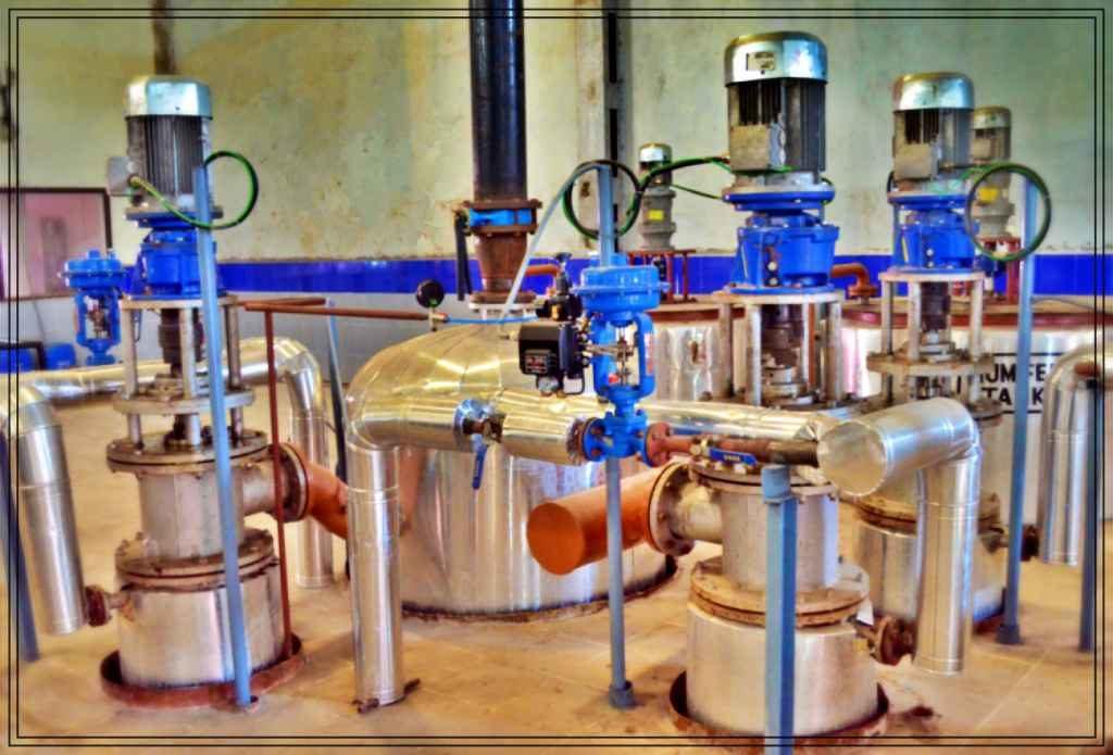 Edible Vegetable Oil Gums Drying Plant