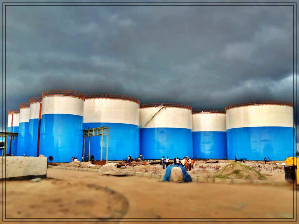 Edible Vegetable Oil Process Automation Plant