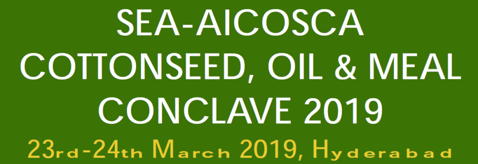 DVC Process Technologists to attend the SEA-AICOSCA Cottonseed, Oil & Meal Conclave 2019