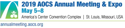 DVC will be present at AOCS Annual Meeting 2019 in St. Louis from 5th - 8th May 2019