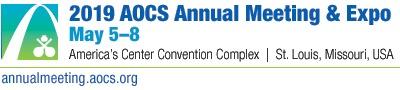 AOCS Annual Meeting 2019